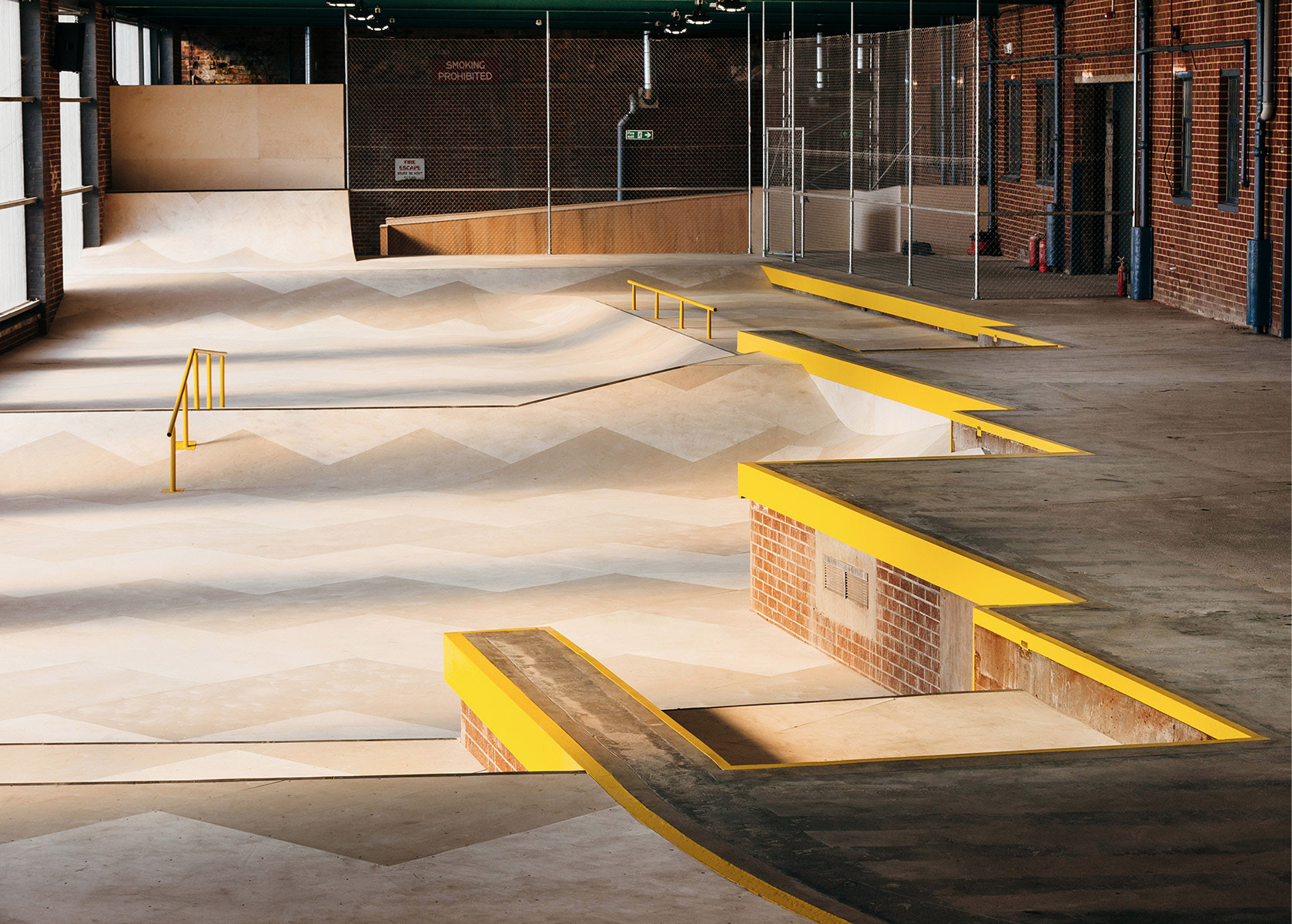 The Loading Bay Skatepark Glasgow